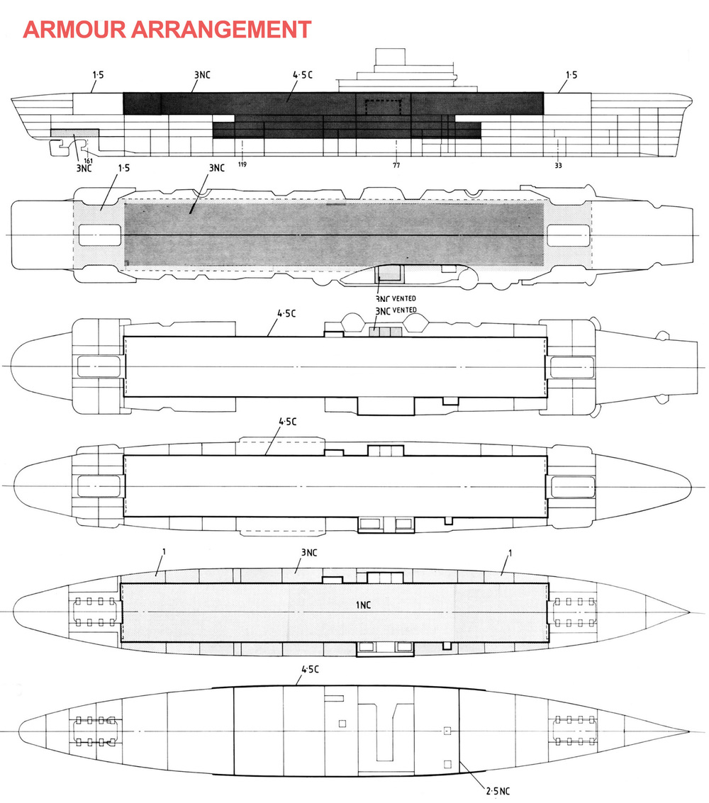 Source: Anatomy of the Ship Victorious by Ross Watton