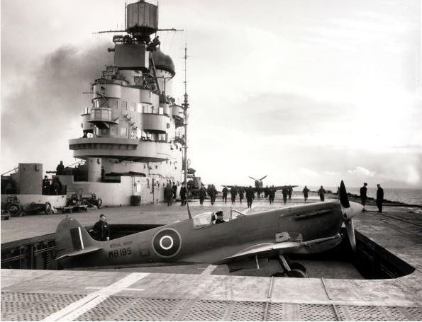 2014-11-16 14_56_31-World War II_Aircraft Carriers 20th March 1943 HMS 'Indomitable' on... News Phot.jpg