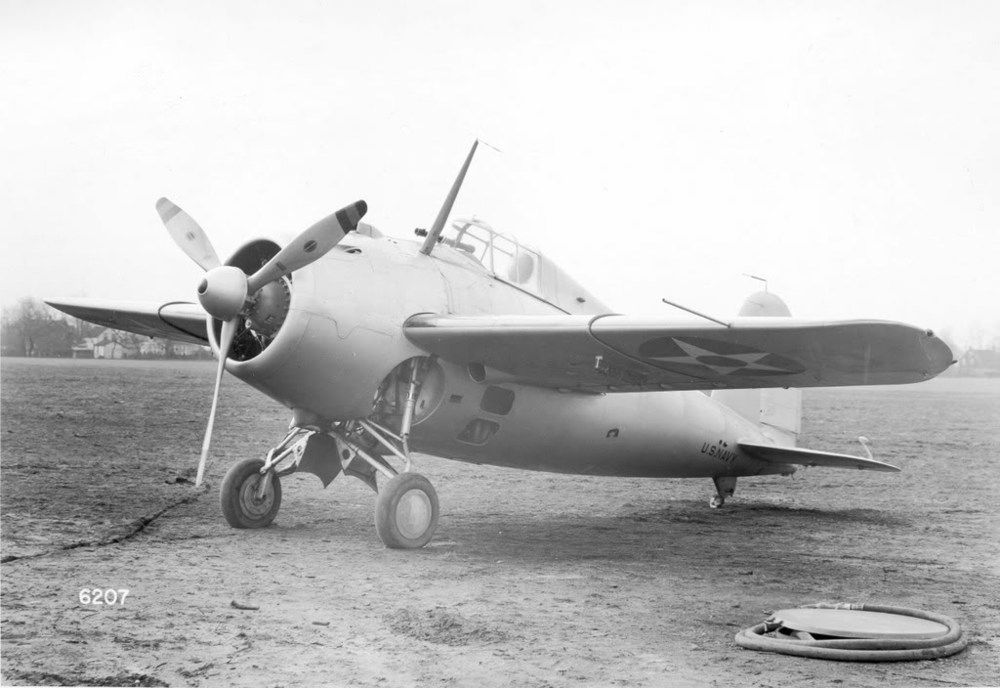 The XF4F-1