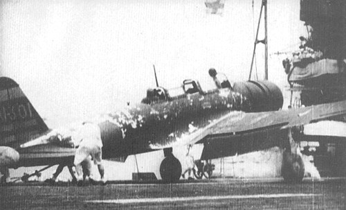 Theis B5N Kate is believed to have been the one from which Fuchida coordinated the April 5 raid on Ceylon