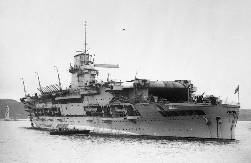 HMS GLORIOUS in 1935.