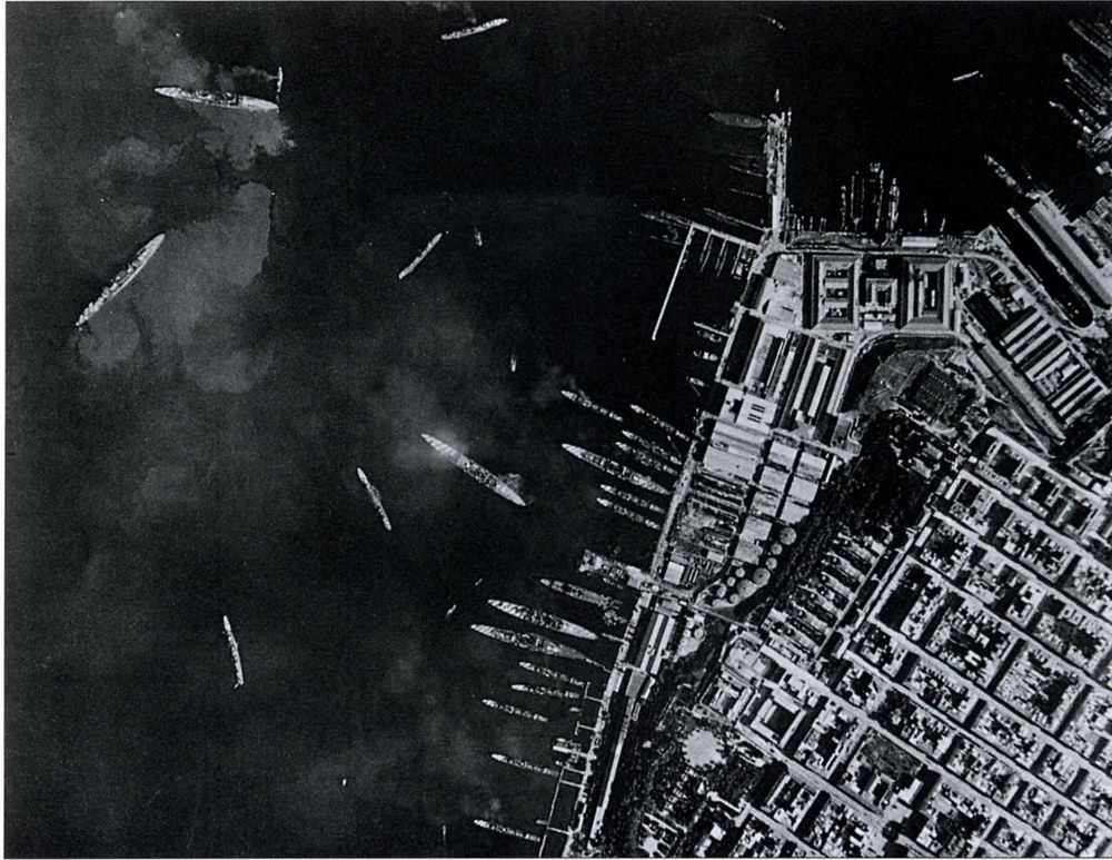 Post-attack reconnaissance image of Mare Picolo.