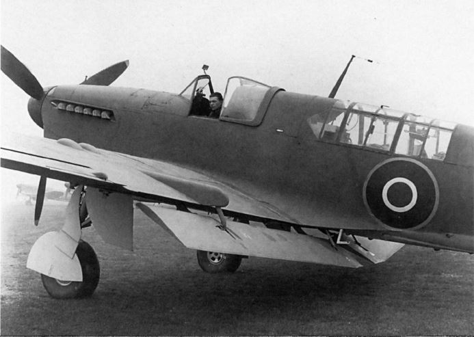 A prototype Firefly displays its Younman flaps.