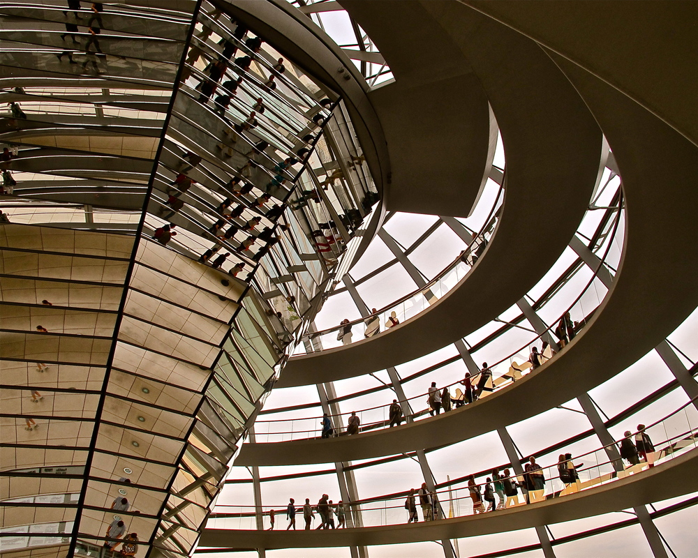The New Bundestag, Berlin