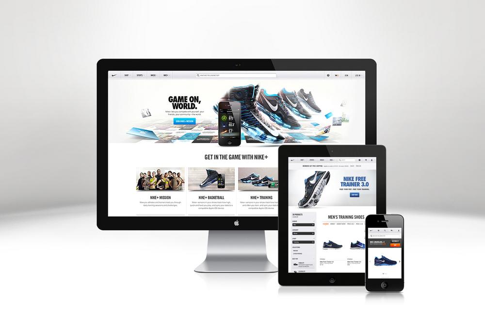Nike.com Global Redesign
