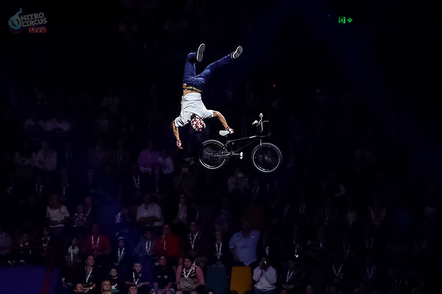 """Special Greg"" POWELL - Nitro Circus  Inventor of the ""Special Flip"" and part of the Nitro Circus world tour. Greg is truly special in his ability to pull off stuff others can only dream of."