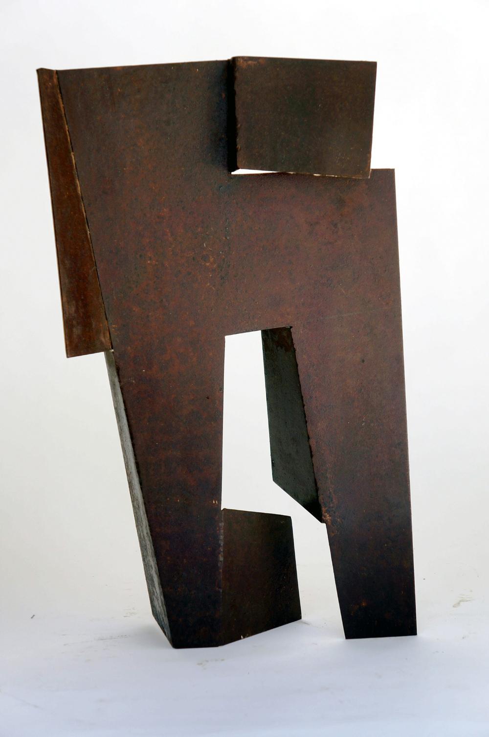 """Sentinel VIII   1989 Steel 23"""" x 21"""" x 20"""""""