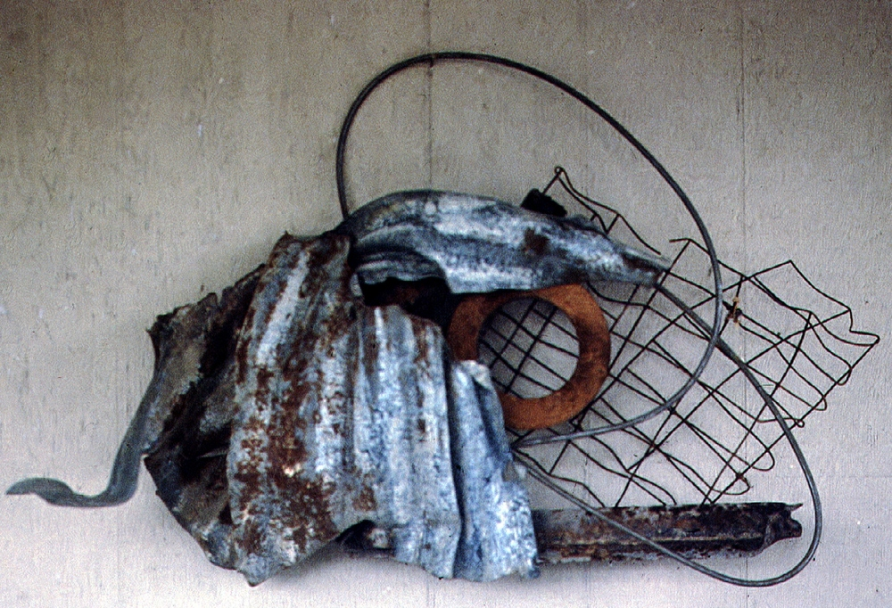 "Kluge #4, Early Morning  1997 Steel 36"" x 27"" x 15"""