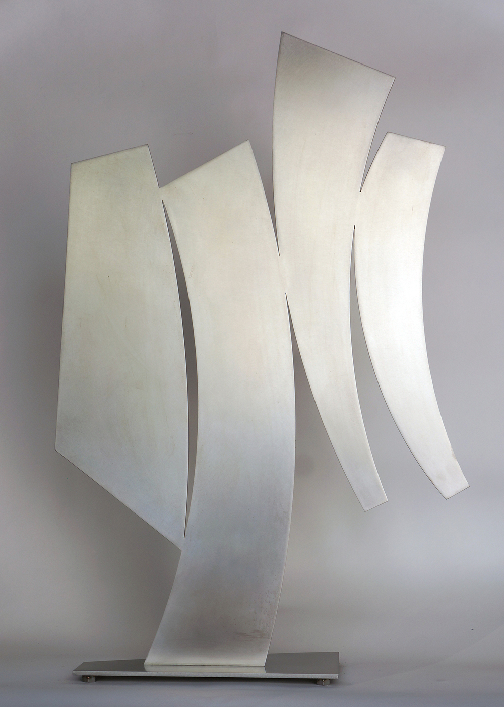 "Shadow Of A Shadow  2015 Stainless Steel 36"" x 23 1/2"" x 8"""
