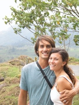 Mitch and I on our adventures together in Costa Rica.
