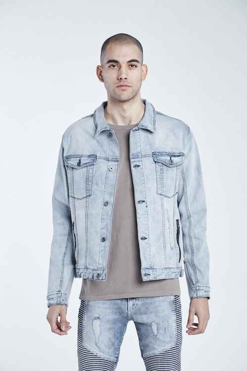 zanerobe greaser denim jacket articles