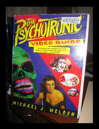 This book lists horror, cult, exploitation, and just wierd movies. Some out of print.