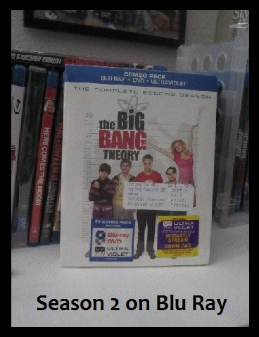 Blu Ray of The Big Bang Theory I have