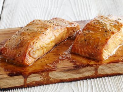 Cape Sebastian Cedar Planked Salmon