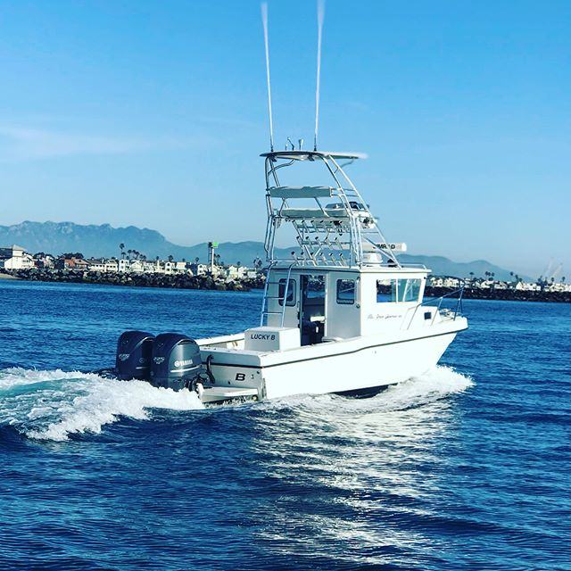 Welcome to the Channel Islands... @captbrandonnelson 's Lucky B is set to become Vic's ForTuna. #davisboats