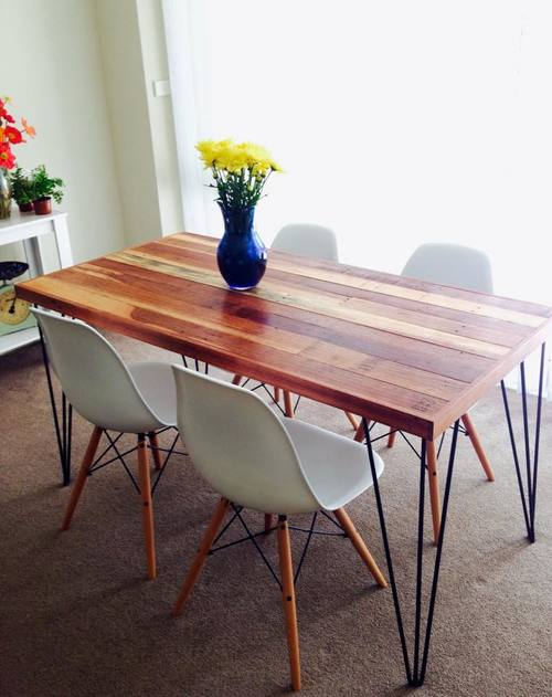 BULLOCK DINING TABLE/DESK