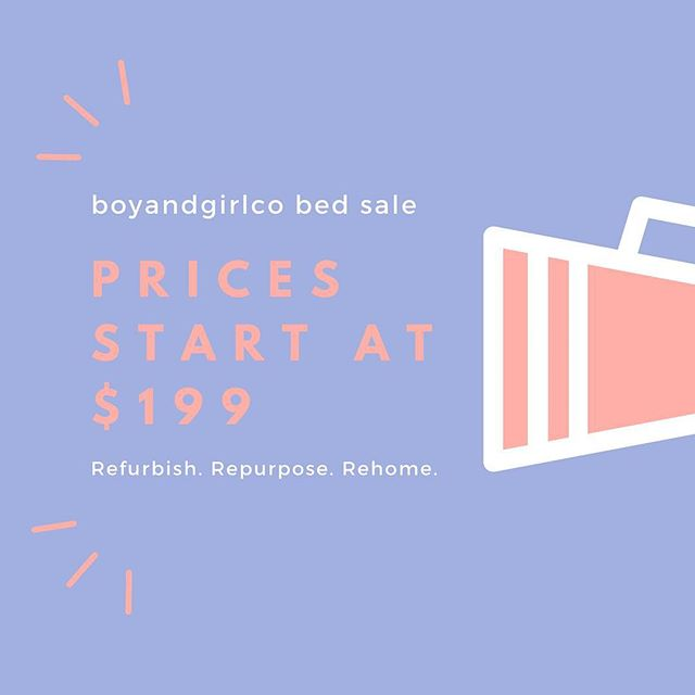 💥💥 B E D  S A L E 💥💥 . Get yourself ready for winter with a cosy @boyandgirlco bed! Our bedding range is currently 50% off, so get on it!