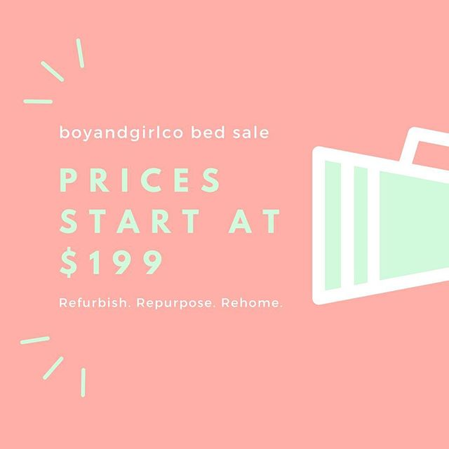 💥 5 0 %  O F F  A L L  B E D S 💥 . Head to www.boyandgirlco.com.au to save 50% off on our bed range. . Boom!!