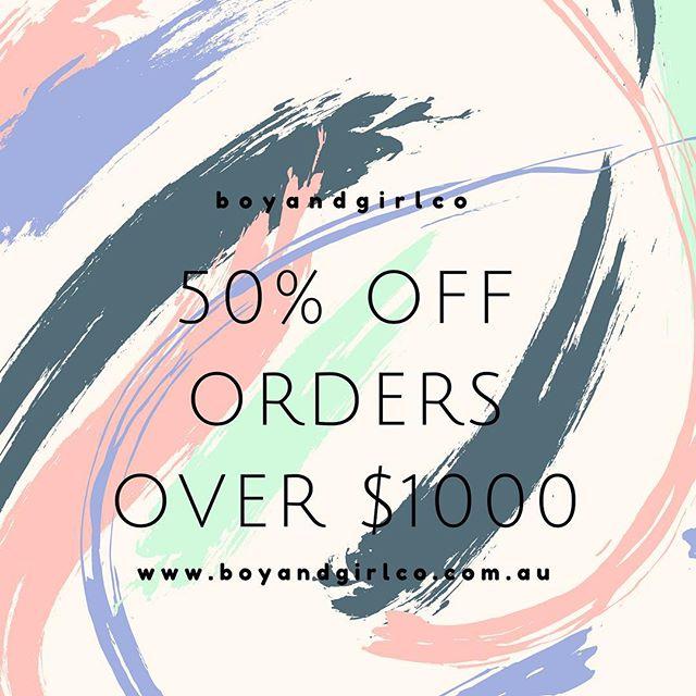 💥 the @boyandgirlco sale continues!💥 . Head to www.boyandgirlco.com.au to order and save!
