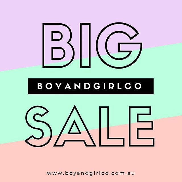 💥💥 L A S T  D A Y 💥💥 . The offer to get 50% off your order over $1000 runs out at midnight tonight! . www.boyandgirlco.com.au . To claim the offer, use HOME50 at checkout.