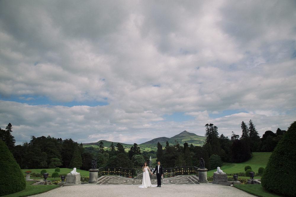 Emma & Max // Wedding // Powsercourt House
