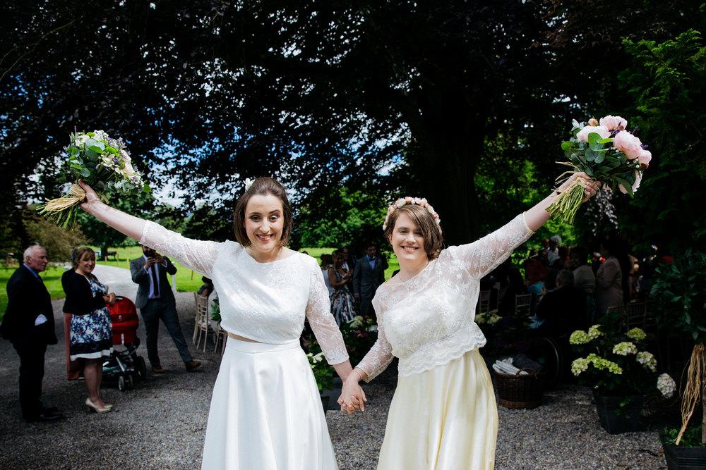 Jen & Helena // Wedding // Clonacody House