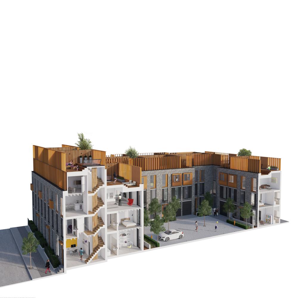 Roof Gardens, De Trafford, Detrafford, DeTrafford Estates