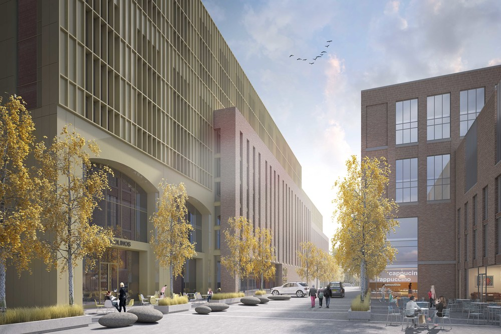CGI of the new public square