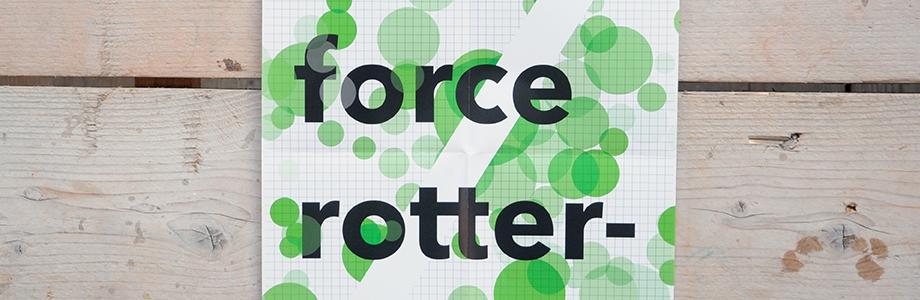 Crowd Force Rotterdam |  print   design