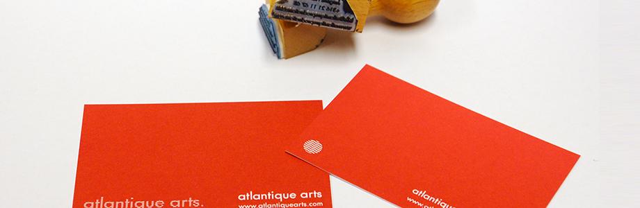 Atlantique Productions |  logo design  , website design, print design