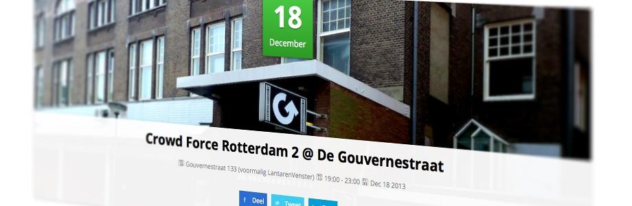 Rotterdamse Nieuwe |  logo restyle, website design