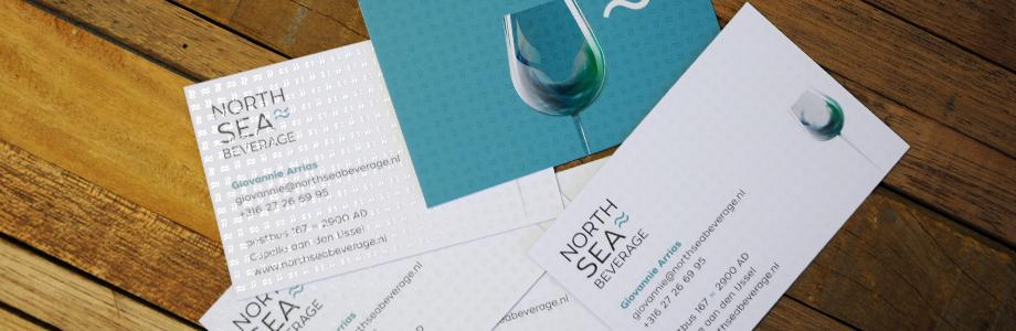 North Sea Beverage |  logo design, stationary design, branding, website