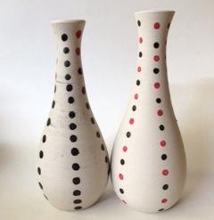 Title: Spotty Vase