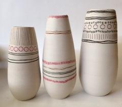 Title: Landscape Vases