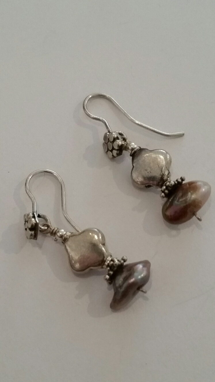 Title: Grea Pearl Earrings #169