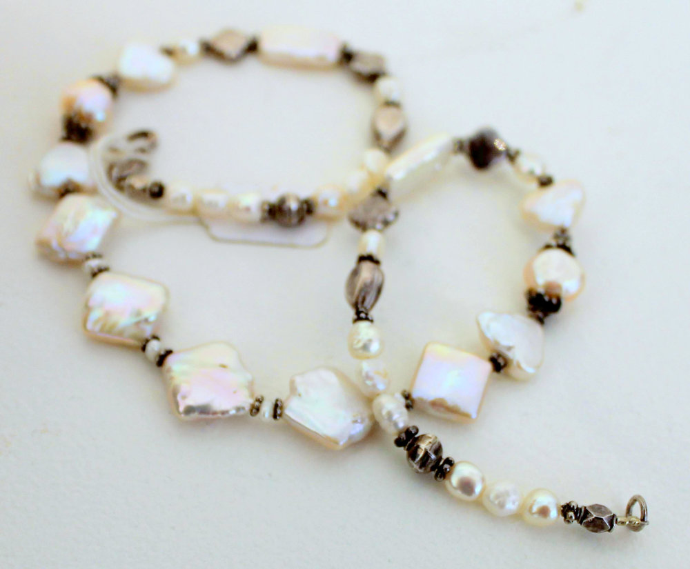 Title: Cultured Fresh Water Pearl Necklace #280