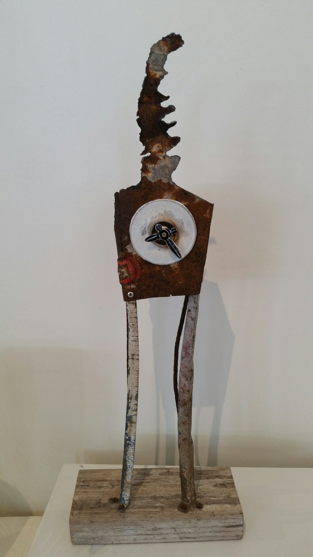 Title: Tall Plasma Clock