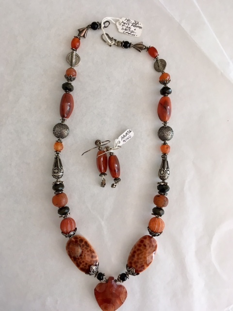 Title: Ancient Agate Necklace