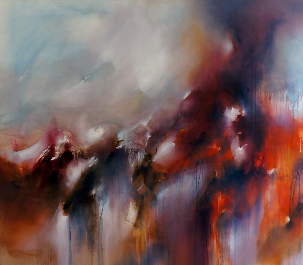 The Space Between  oil on canvas on board FR143.5 x 163 cm $5 000.jpg