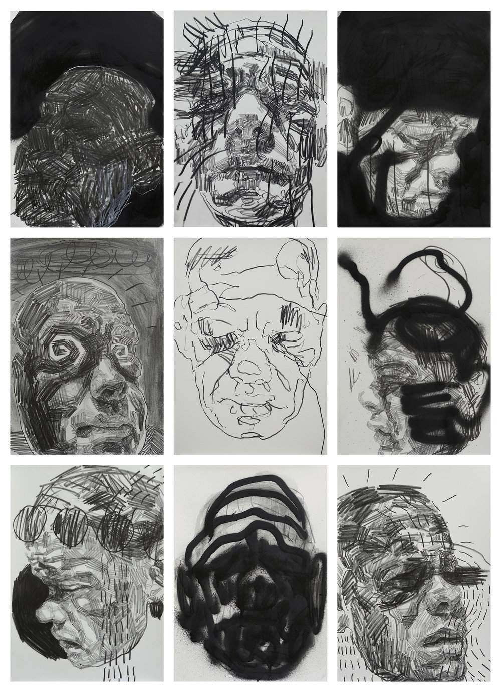 Self Portrait Studies #4 by Andy Quilty