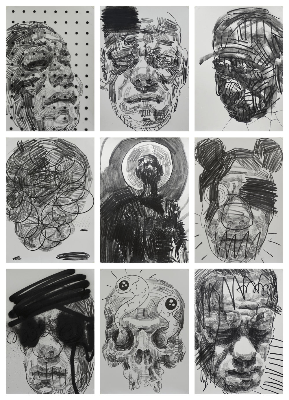 Self Portrait Studies #5 by Andy Quilty