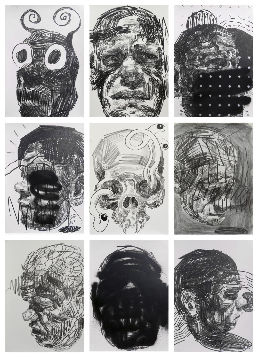 Self Portrait Studies #6 by Andy Quilty
