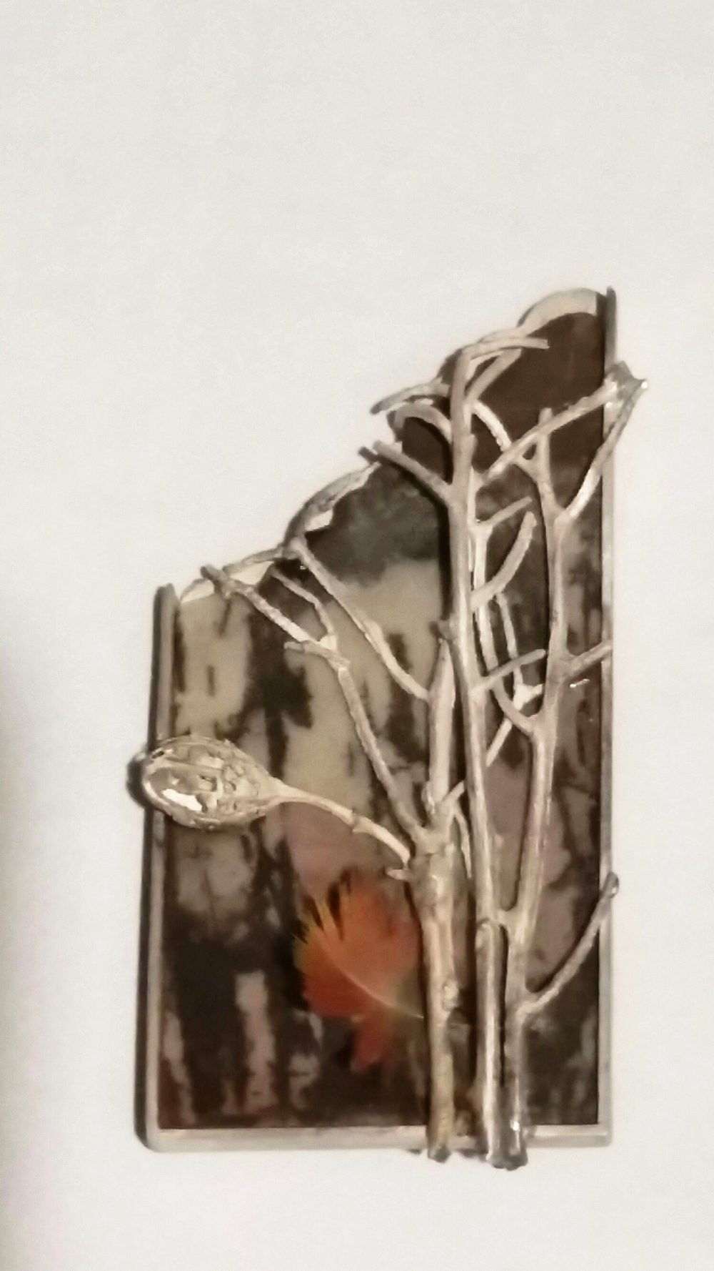 BROOCH PICTURE JASPER