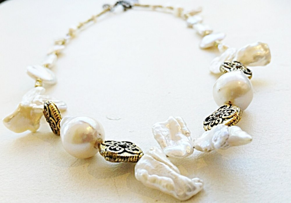 BAROQUE PEARL NECKLACE # 1