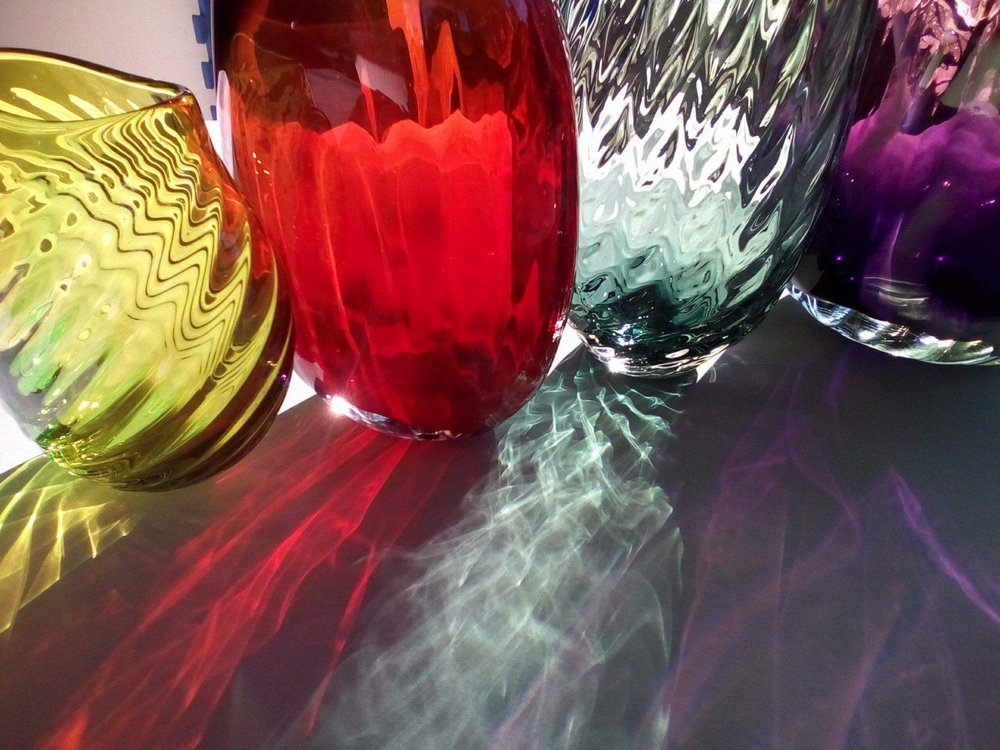 OPTICAL VASES BY GERRY REILLY