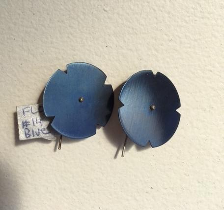 FLORESCENCE SERIES EARRINGS - BLUE