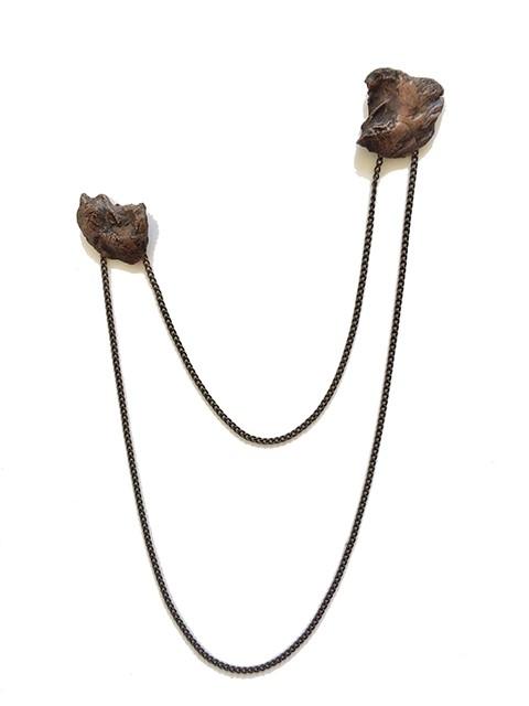 Kodama (echo)Double Brooch
