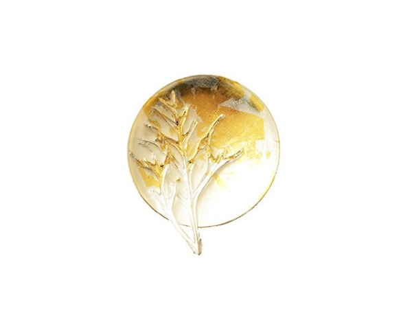 Mangetsu Brooch ( full moon)