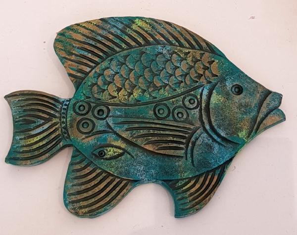 FISH WALL HANGING TILES