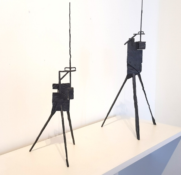 SUSPENDED SENTENCE # 1 & 2 - KELLY SCULPTURES